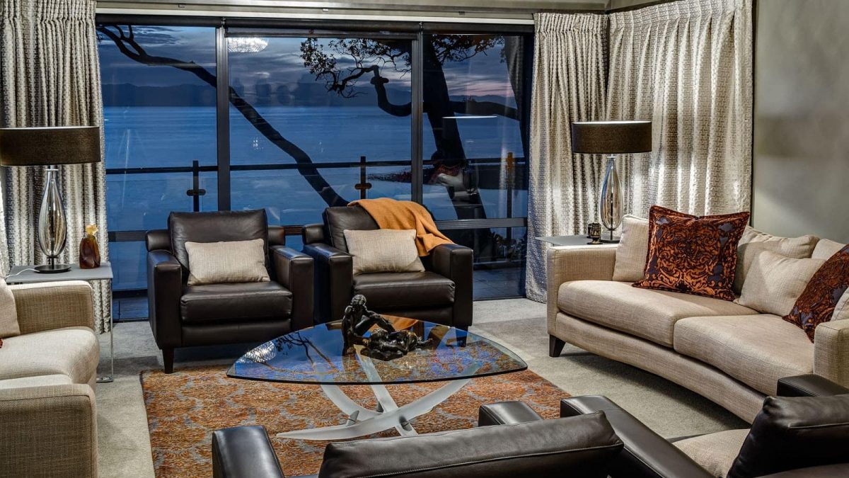Renovation of The Cliffs, Nelson | Living Area Design by PK Design | New Zealand